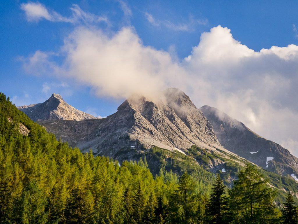 Cloudy Mountain