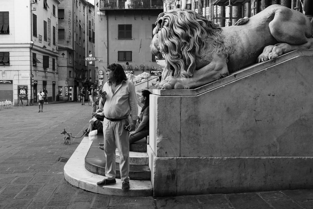 The Man and the Lion