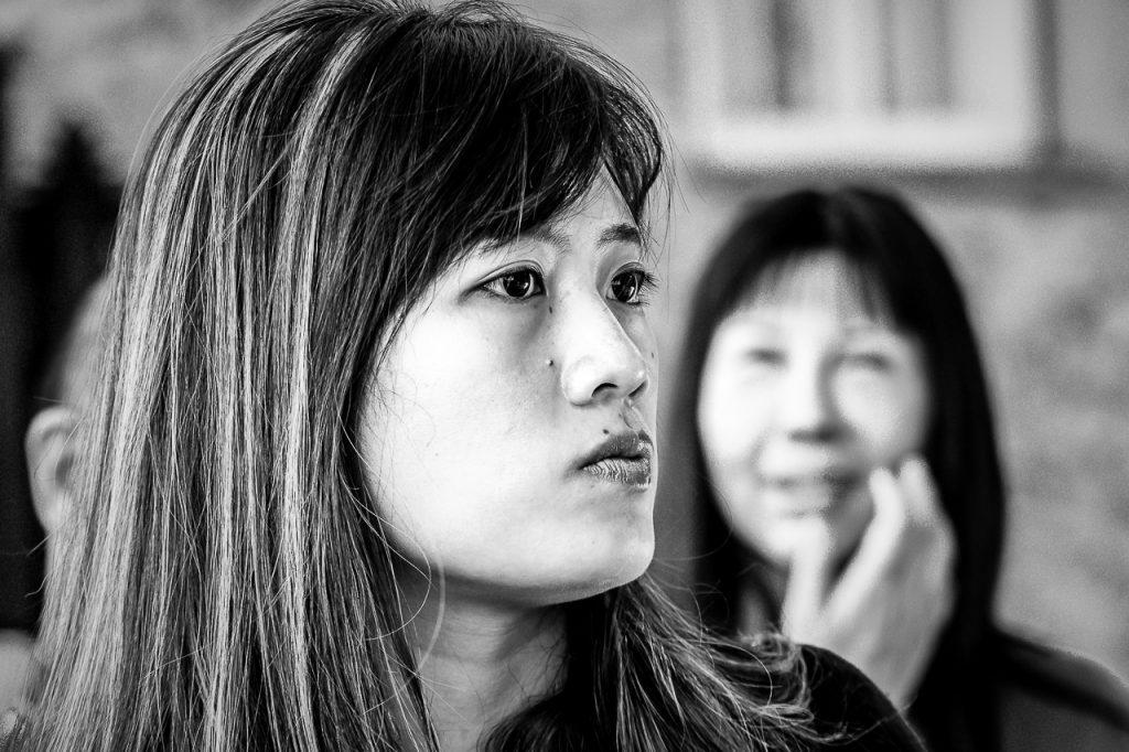 Street Portrait of an Asian girl