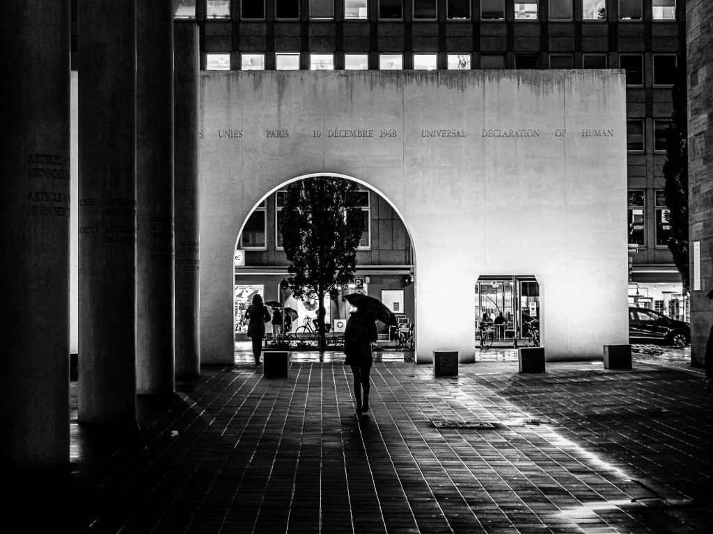Columns and Rain