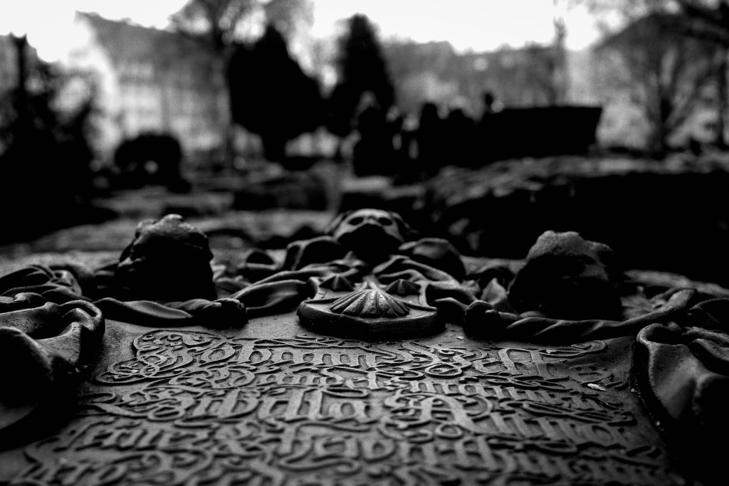 Medieval tombstones Nuremberg