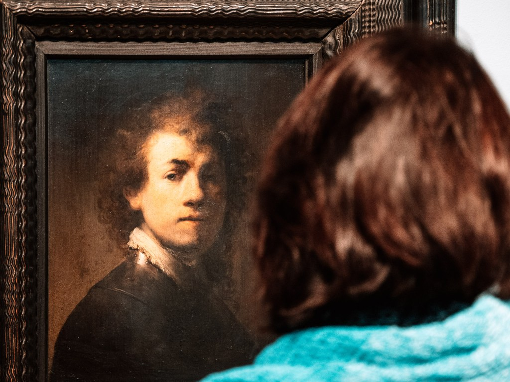 Eye in eye with a Rembrandt