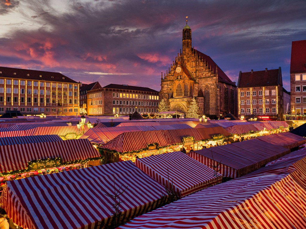 What's missing....Christmas market 2020 is not happening on the streets of Nuremberg due to Covid