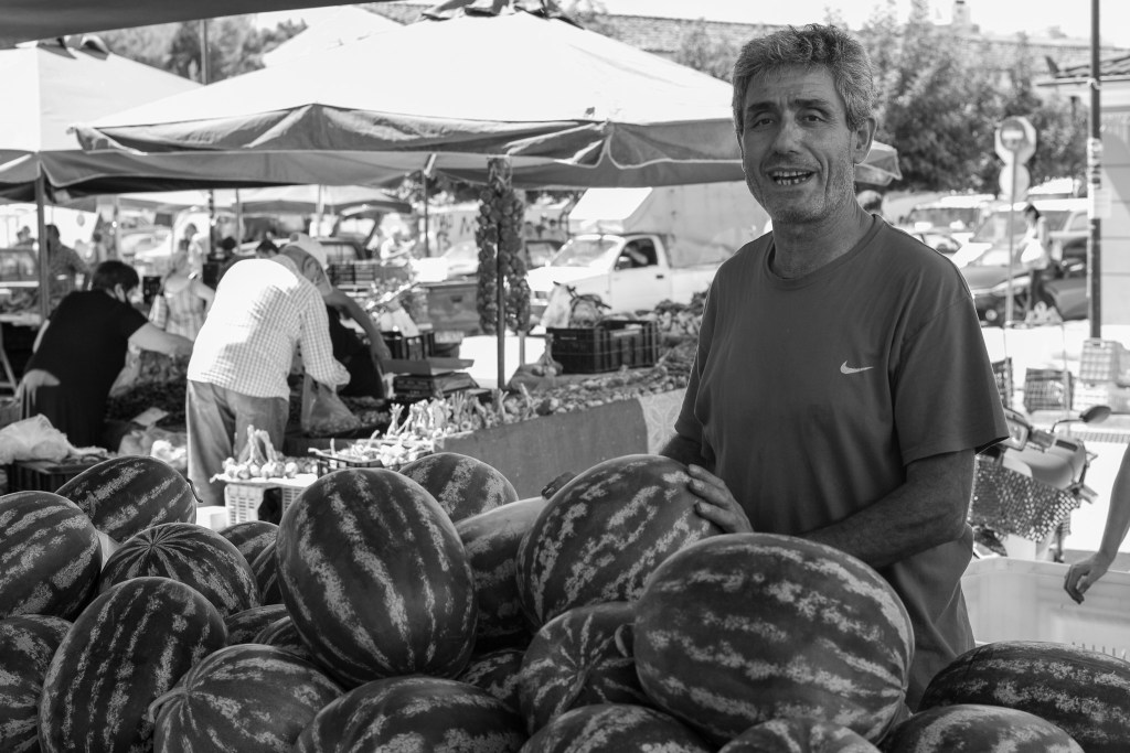 vendor of water melons